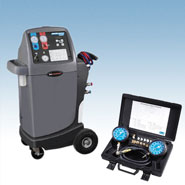 Air conditioning service machines