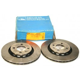 Brake Disc VOLKSWAGEN GOLF GTI 1800 88 - 91 Front