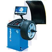 Electronic  Wheel Balancer For Truck With LCD Display 19""