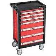 Drawer Trolley With 197 Tools