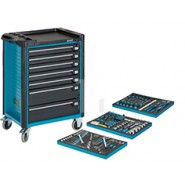 Drawer Trolley With 179 Tools